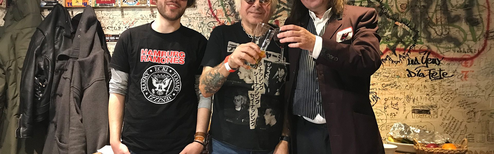 Charlie Harper (UK Subs) Interview on Radio Brennt!