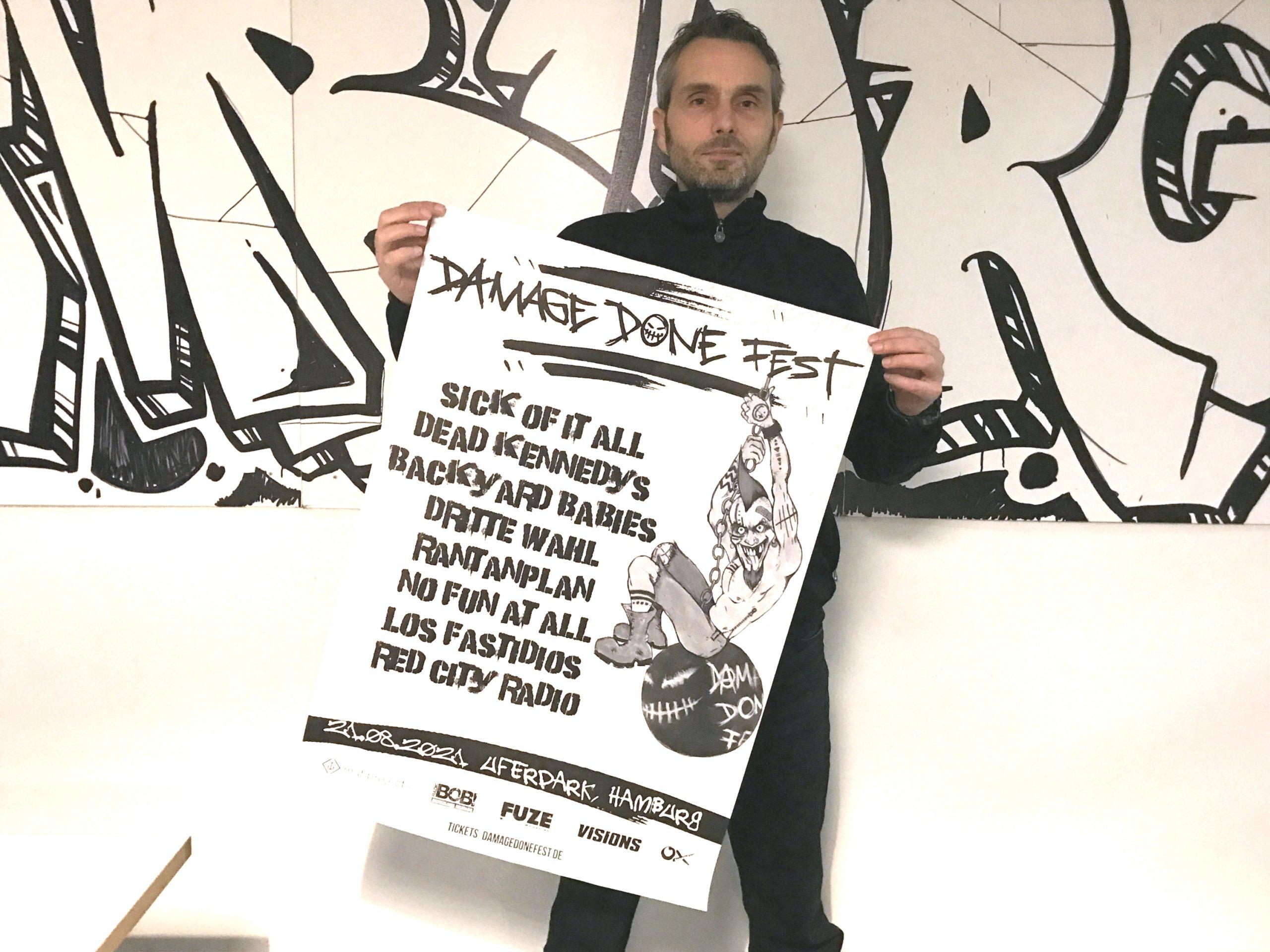 Jean-Pierre Rullmann, Damage Done Fest